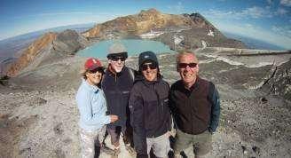 Ruapehu Crater Lake group