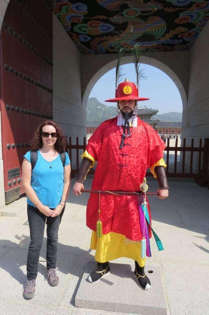 Gyeongbokgung Palace changing of the guards