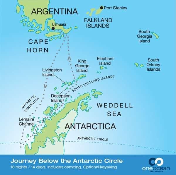 Journey Below the Antarctic Circle 2019 (RCGS Resolute)