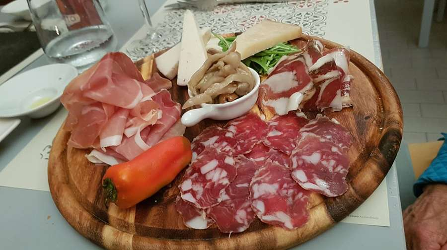 Antipasto in Sicily