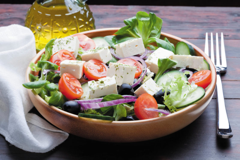 The quintessential feta salad