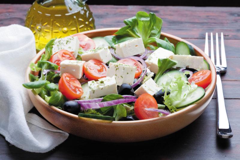 The quintessential feta salad